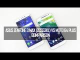 ASUS Zenfone 3 Max (ZC553KL) vs Moto G4 Plus- Detailed Comparison