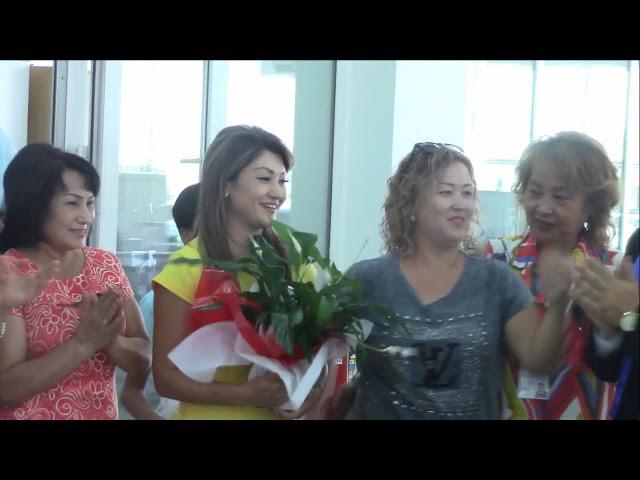 G TIME 11 09 2017 г Вручение 2х АВТО, партнерам из Уфы и Алматы