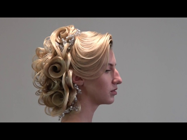 Hair tutorial, wedding, bridal, hairstyle, updo, FARRUKH SHAMURATOV