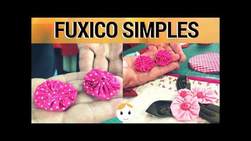 COMO FAZER FUXICO SIMPLES TUTORIAL 1 DE 4 | COSTURA PARA INICIANTES | DRICA TV