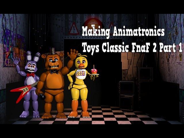[Speed Edit] Making Animatronics Toys Classic Part1   FnaF 2