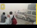 Pollution Is So Bad in India, It's Causing Car Crashes | National Geographic