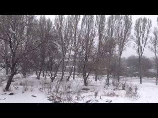 ВЛОГ׃ Смотрел бы и смотрел как идёт снег...