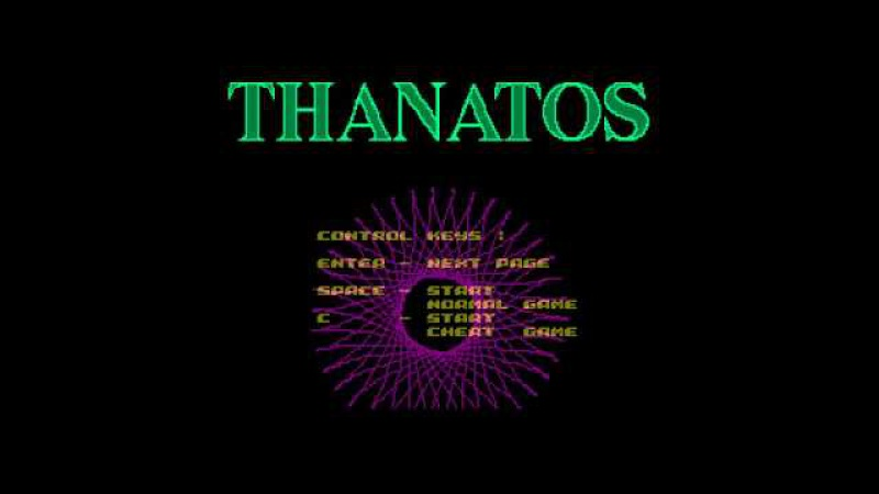 Thanatos Crack Intro - MiS Studio [zx spectrum]