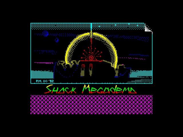 Shock Megademo Intro Black Square Software Dmitry Zakharijew zx spectrum