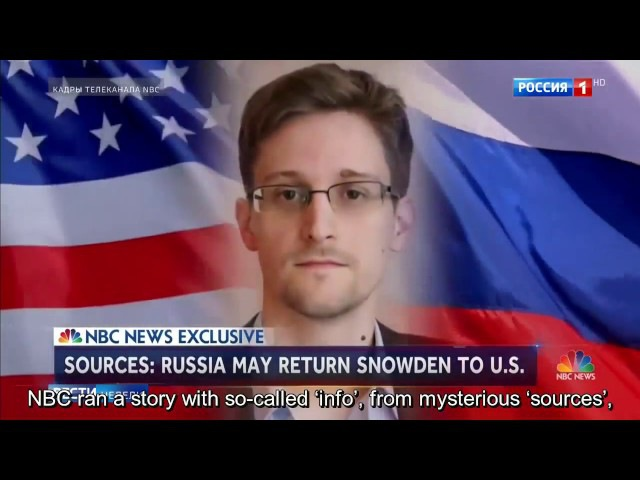 Dear Fake News, Russia Does Not Sell Out People - Russian Journo Kiselyov Slams NBC on Snowden Story