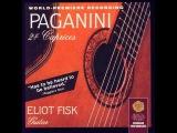 Paganini 24 caprices guitar - Eliot Fisk (full album)