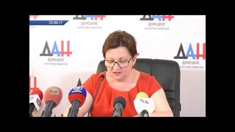 Лариса Полякова. Министр образования и науки ДНР. 23.06.17. Актуально