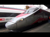 2016-02-07 Bellinzona, SBB CFF RABe 503 (EX-ETR 610) - Trenitalia ETR 610