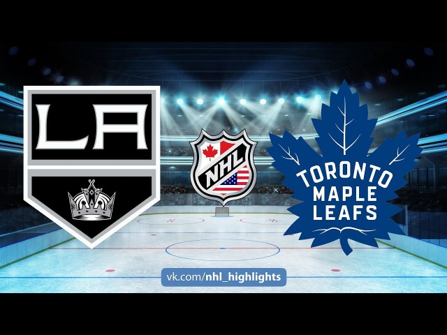 KINGS VS MAPLE LEAFS October 23, 2017 HIGHLIGHTS HD