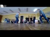 Legion dance studioбатл Діма і Сірьожа тренування 26.03.17.м.Миронівка
