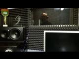 Айдамир Эльдаров работает сейчас над записью нового трека Улетают журавли