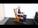 Кресло качалка маятниковая глейдер