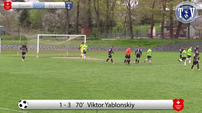 Start Pruchnik 1-3 Błękitni Ropczyce (Viktor Yablonskiy)
