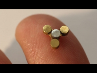 Самый маленький спиннер в мире! worlds smallest spinner!