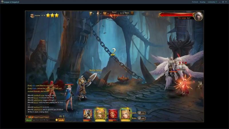 Обзор браузерной игры Лига ангелов 2 (League of Angels 2)