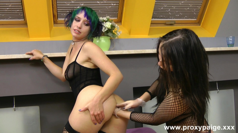 Sofia and Proxy rosebutt play фистинг, анал, extreme insertion, pump, gape, anal, prolapse, huge