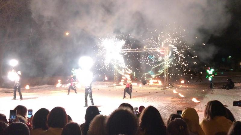 Fireshow, Peterhof, LUA 2017