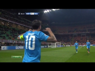 Милан 0-1 Зенит / 04.12.2012 / AC Milan vs FC Zenit