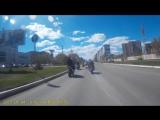 Авто-мото пробег в честь Дня Победы (нарезка)