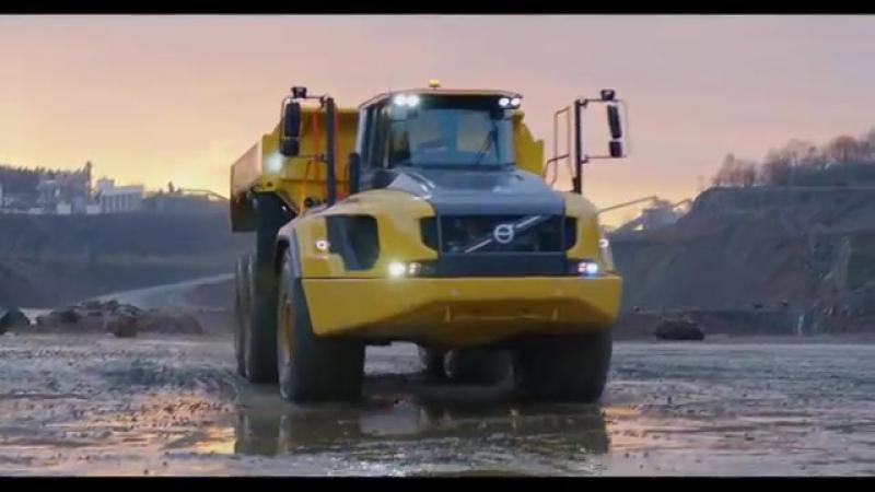 Volvo A60H dumper