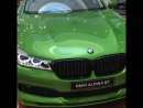 BMW Alpina B7 Java Green
