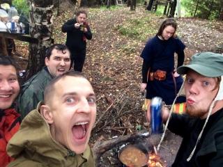 """Готовим еду на """"эпохе викингов"""""""