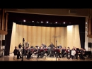 Г. Чернов Концерт для оркестра баянистов и ударных инструментов, дирижер Руслан Канеев.