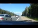 Два беспредельщика-обочечника на Минском шоссе