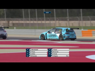 TCR International Series 2017. Round 2. Bahrain. Race 1