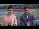 19.05.2017 - Interview- Zac Efron and Alexandra Daddario