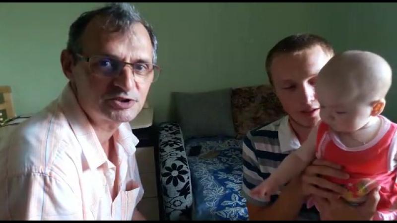 В России Владимир Прагер навестил девочку из г.Чебоксары. У Виктории Петровской диагноз ОСТЕОПЕТРОЗ. Единственный шанс спасти р