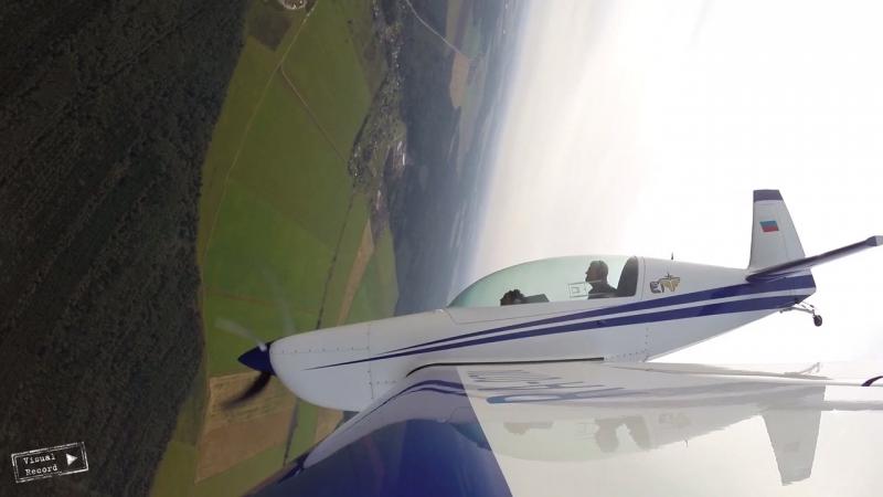 Мой экстремальный полет на Extra 300