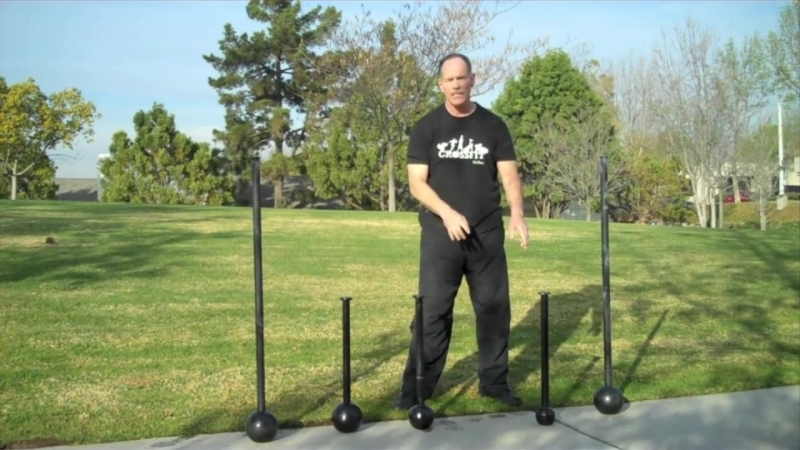 Macebell Exercise- 2-Handed Mill with a Short Mace by Rik Brown