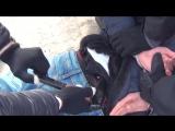Видео задержания организатора теракта в Питерском метро в Одинцовском районе Москвы
