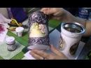 Ведерки кашпо из жестяных банок своими руками ХоббиМаркет 20 выпуск