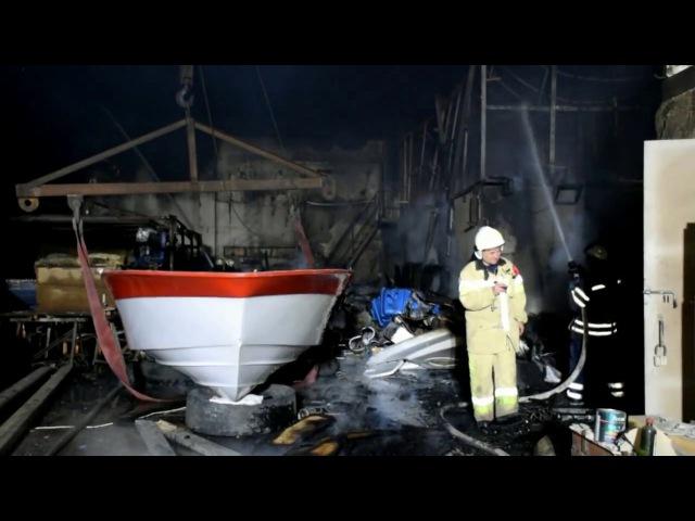 Рятувальники ліквідували пожежу на території одного з підприємств м Миколаєва