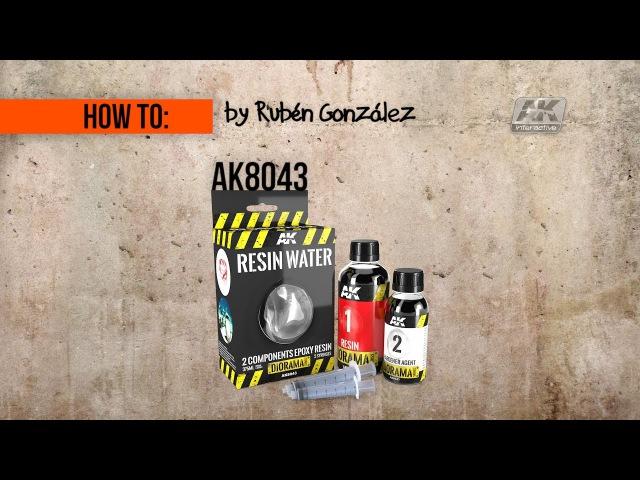 How to: AK8043|| ASPHALT TERRAIN, PART 2: Dirty water in pothole