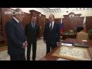 Путин дарит карту Тартарии Шаймиеву и рассказывает запрещенное прошлое