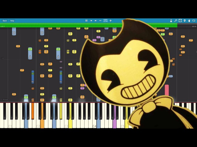 Build Our Machine - Piano Cover Remix - DA Games - Bendy and the Ink Machine Song