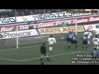 Serie A 1993-1994, day 21 Inter - Cagliari 3-3 (Fontolan goal)