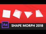 How To Morph SHAPES with Null Paths (After Effects 2018 Update)