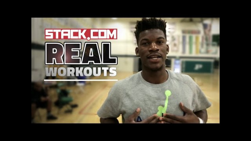 Real Workouts NBA Star Jimmy Butler, Pt. 2 [On-Court Drills]