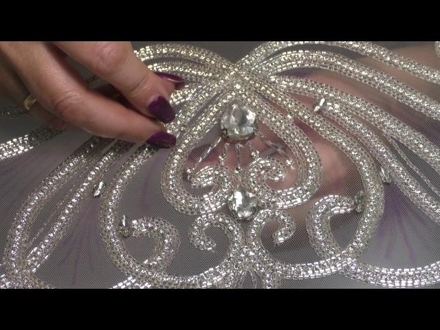 Люневильская тамбурная вышивка МК Пошив плечевого корсажного платья