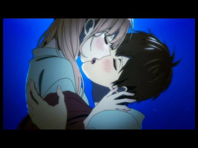 Аниме клип - Я останусь на твоих губах поцелуем....