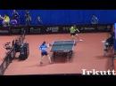 Kim Kyungah (KOR) - Lee Ho Ching (HKG). Asian Table Tennis Championships.