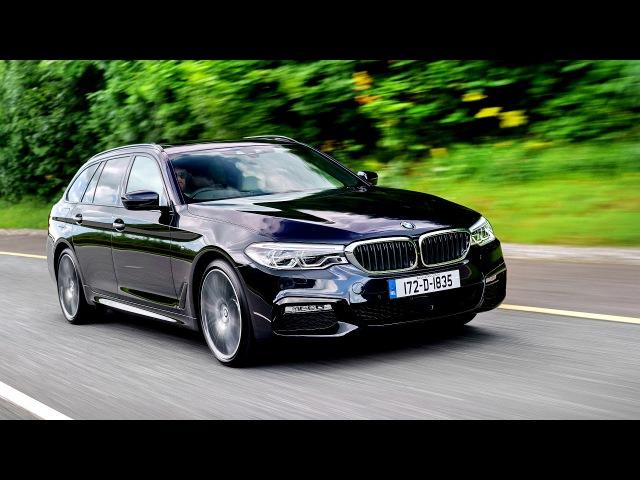BMW 530d xDrive Touring M Sport UK spec G31 2017