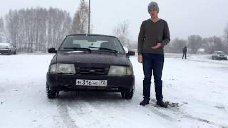 ИЖ-2126 RUSSIAN HACHIROKU. Первый Снег Тюмень 2017