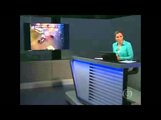 Trechos do RJTV 2ª Edição durante tempestade (16/01/14)