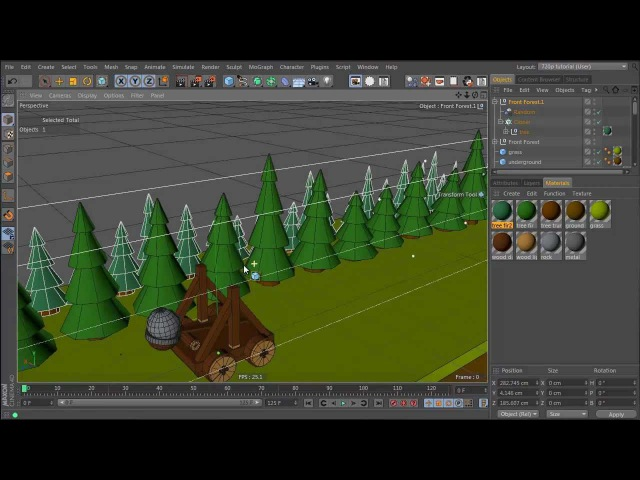 Tutorial: Create a Dynamic Catapult Animation in Cinema 4D: Part 2